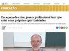 Reportagem sobre Aula Magna do Eng. Silvio Wille, PhD